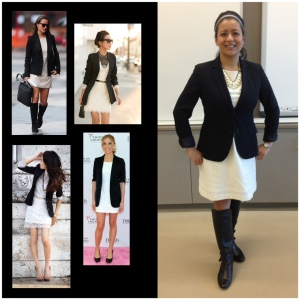 Week 2 :: of eyelets and blazers