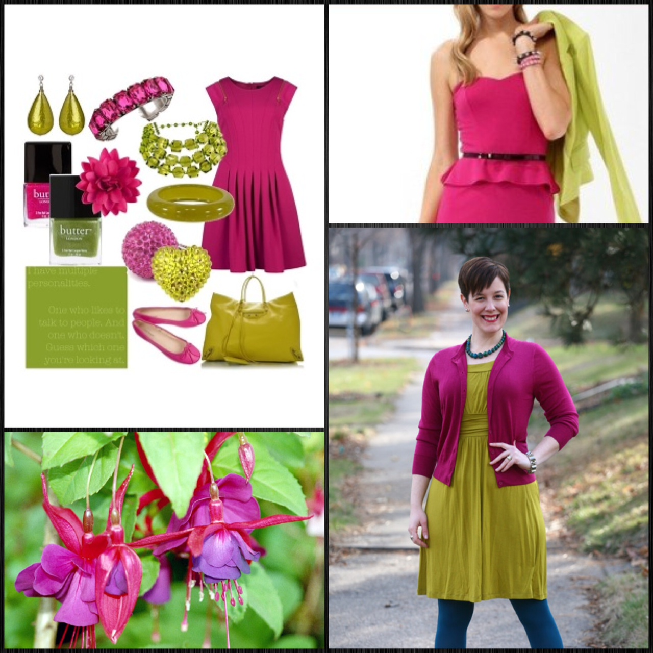 week 6 of chartreuse magenta and a guilty conscience my