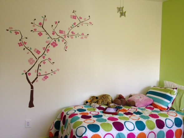 Before the Wallum quote, I attempted to reproduce the cherry blossom tree without instructions.