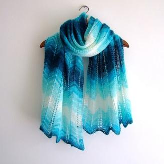 zig zag shawl