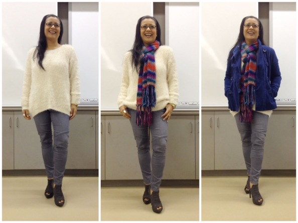 The evolution of an outfit