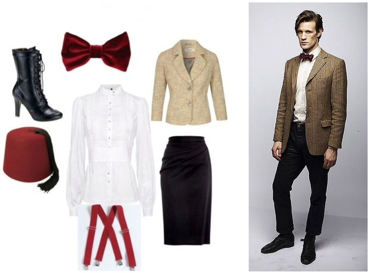Ootd Of Matt Smith And The 11th Doctor My Closet Catalogue