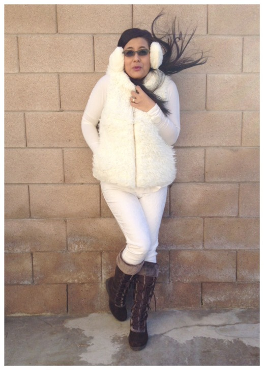 OOTD :: of Winter Wonderland Day and earmuffs!