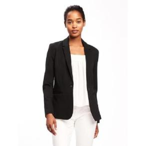 Tuesday - black blazer